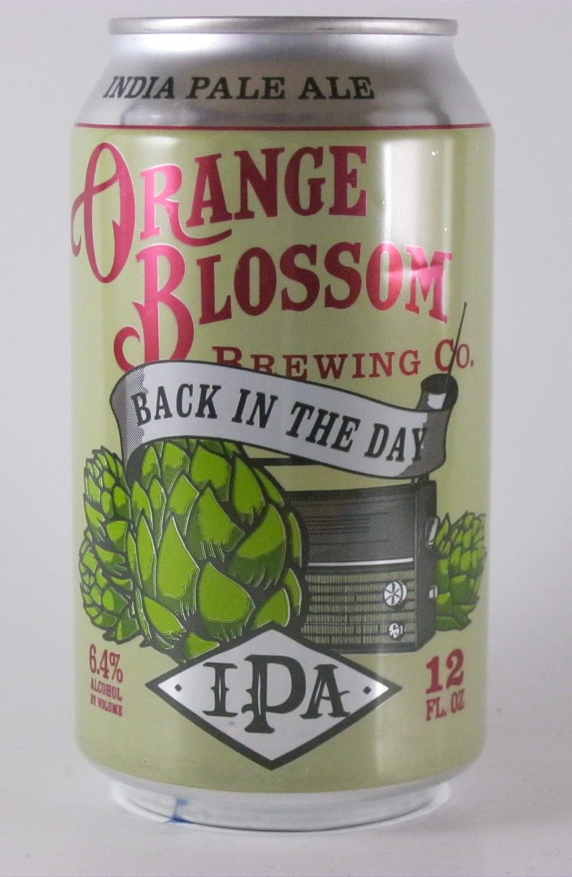 Orange Blossom - Back in the Day IPA