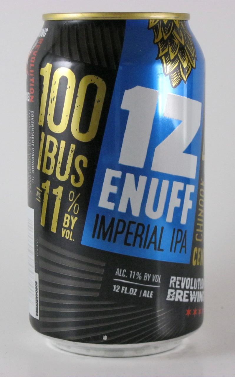 Revolution - 1Z Enuff Imperial IPA