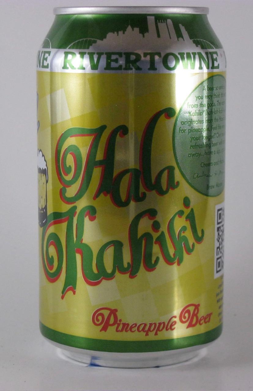 Rivertowne - Hala Kahiki Pineapple Beer