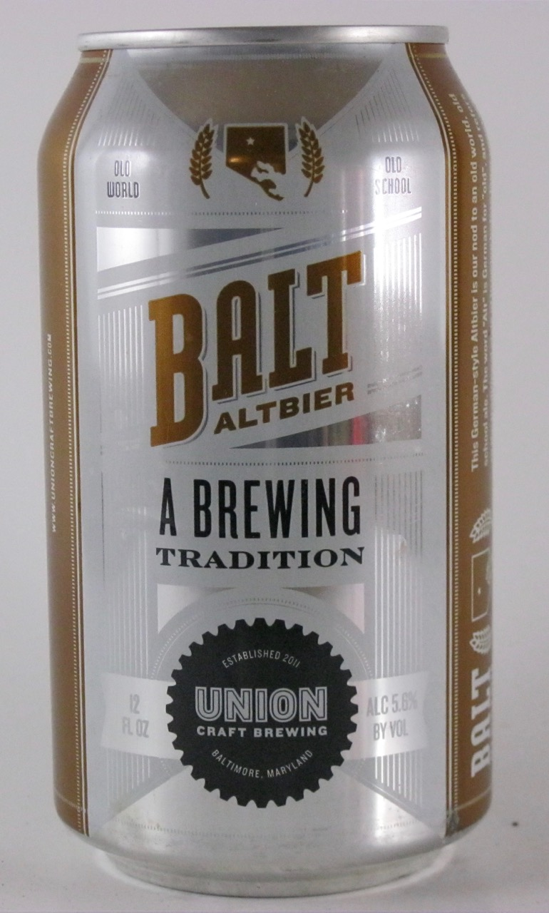 Union Craft - Balt Alt Bier
