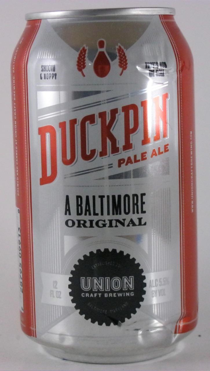 Union Craft - Duckpin Pale Ale