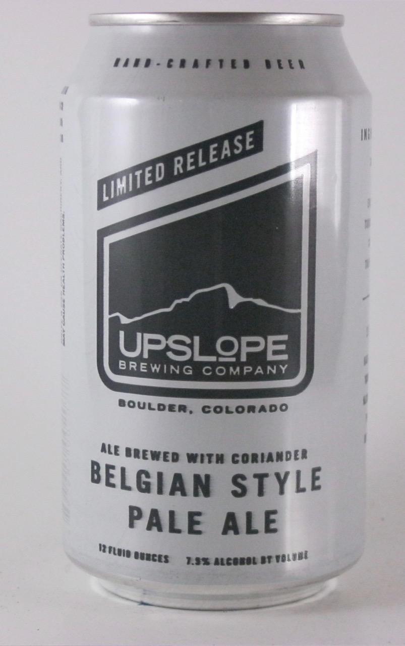 Upslope - Belgian Style Pale Ale