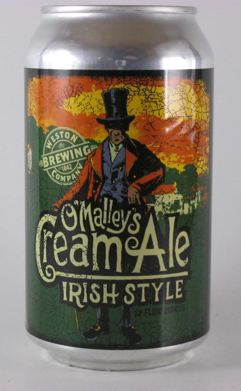 Weston - O'Malley's Cream Ale Irish Stout