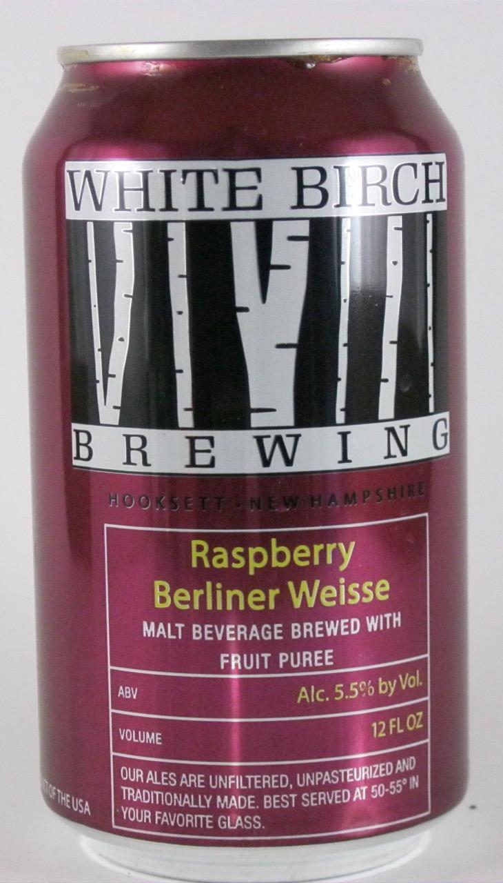 White Birch - Raspberry Berliner Weisse
