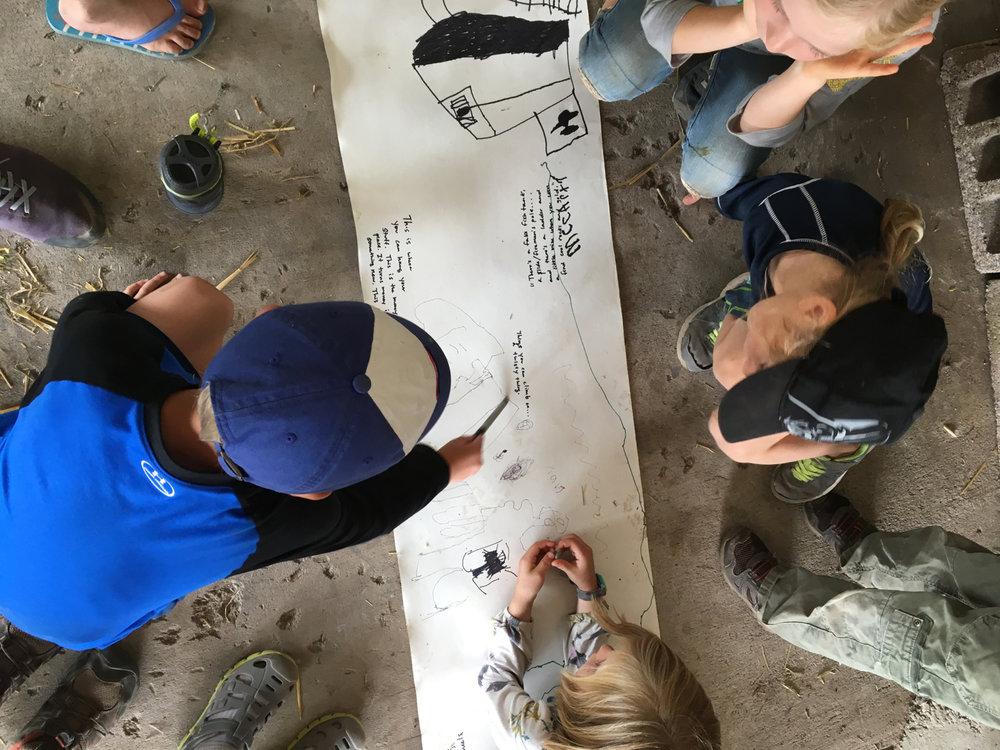 Adventure Building Camp, Week 1, Day 1, 2017