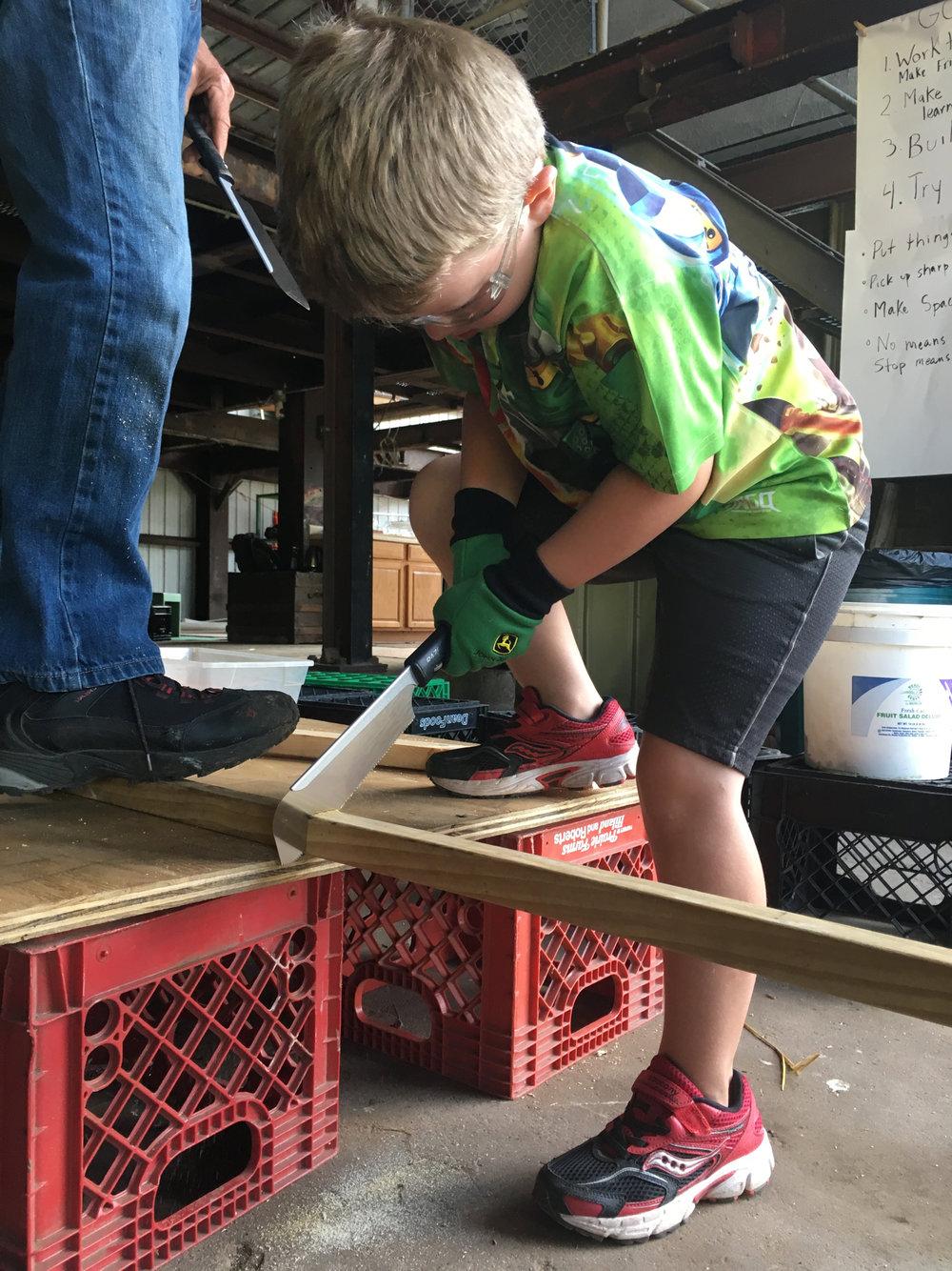 Adventure Building Camp, Week 1, Day 2, 2017