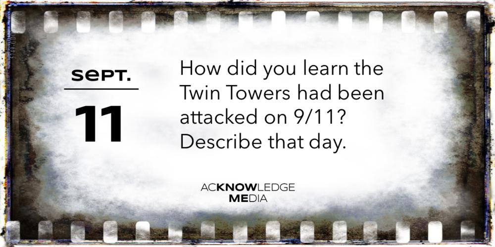 September 11 #QoftheDay