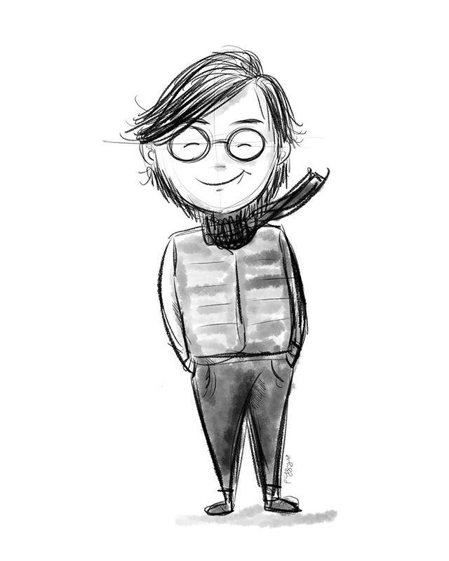 self portrait #ipadpro #illustration #procreate #selfportrait