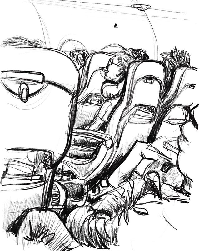 warm up sketch
