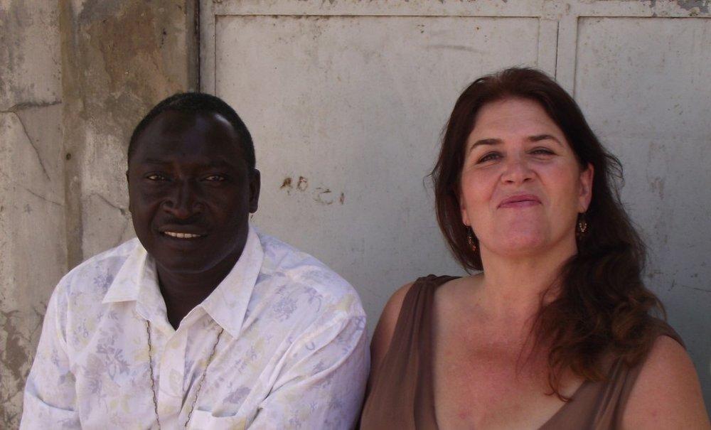 Jill and Atab Dieme