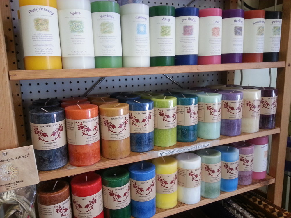 BENNINGTON AROMATHERAPY CANDLES!