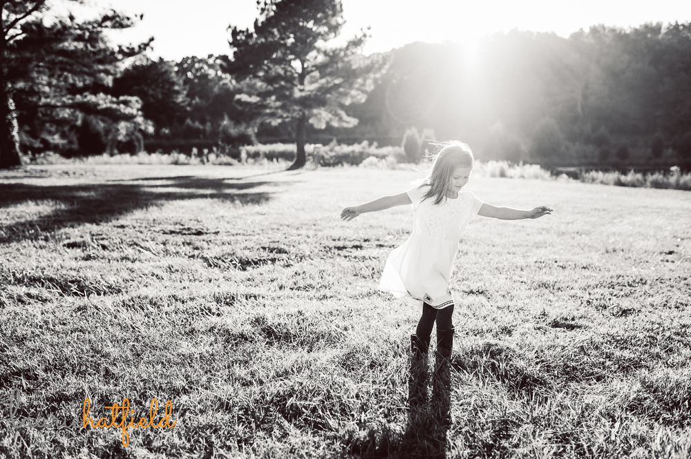 little girl twirling picture