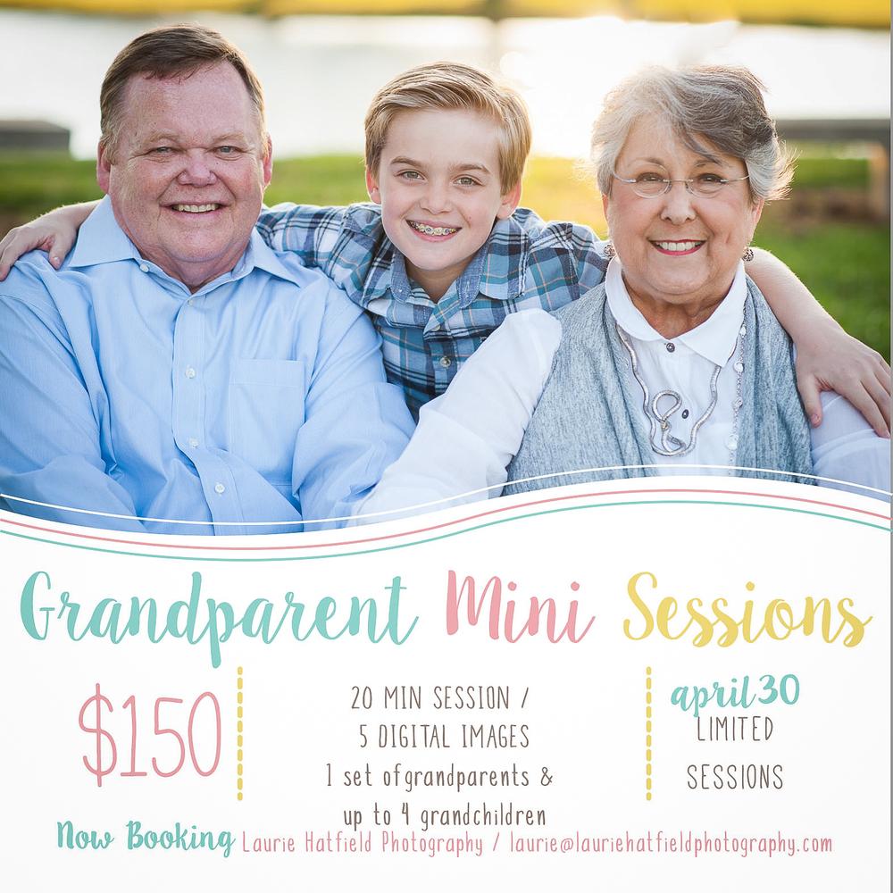 grandparent mini sessions Huntsville AL