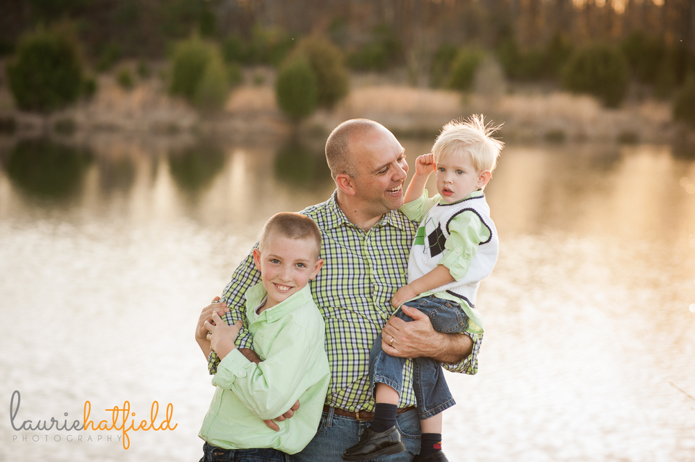dad and two sons {huntsville al photographer}