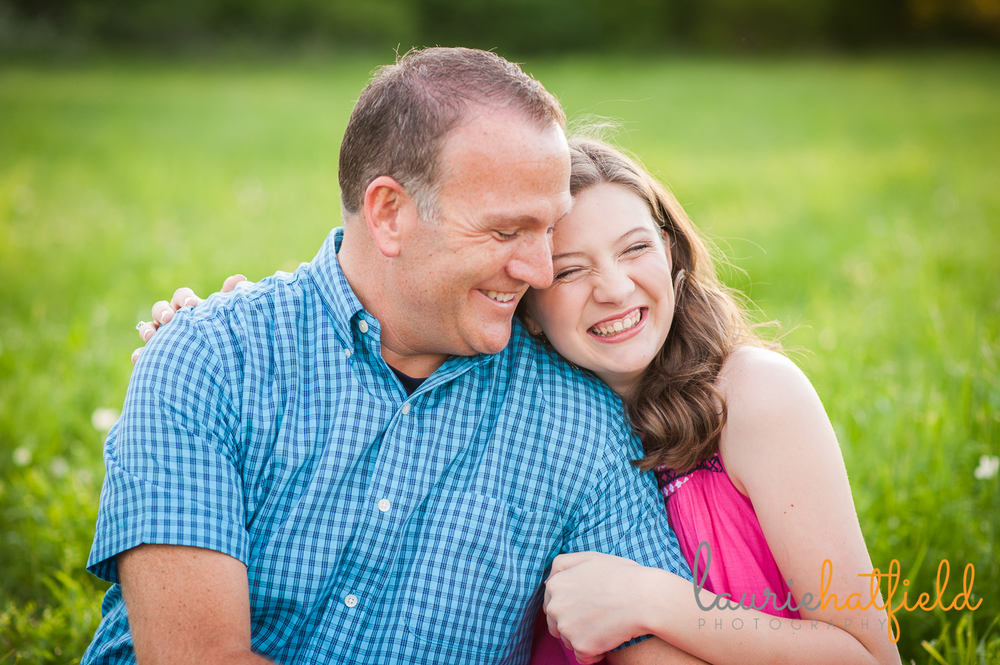 Dad and daughter | Huntsville family photographer