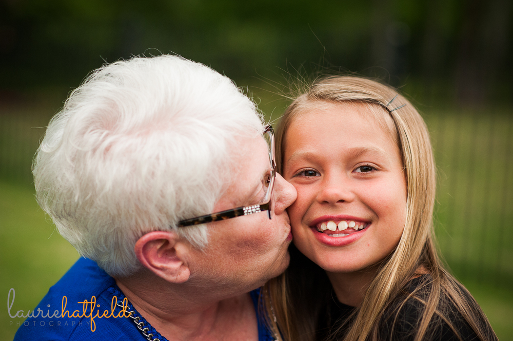 girl with grandmother | Huntsville child photographer