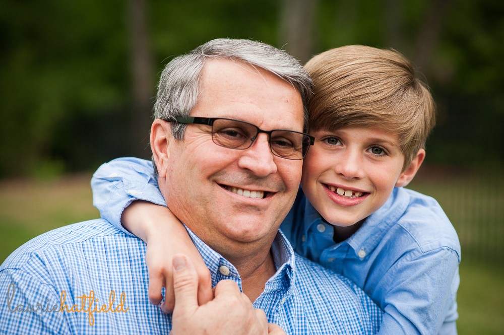 grandson with grandfather | Huntsville family photographer