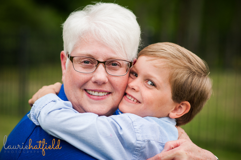 grandson with grandmother | Huntsville family pictures
