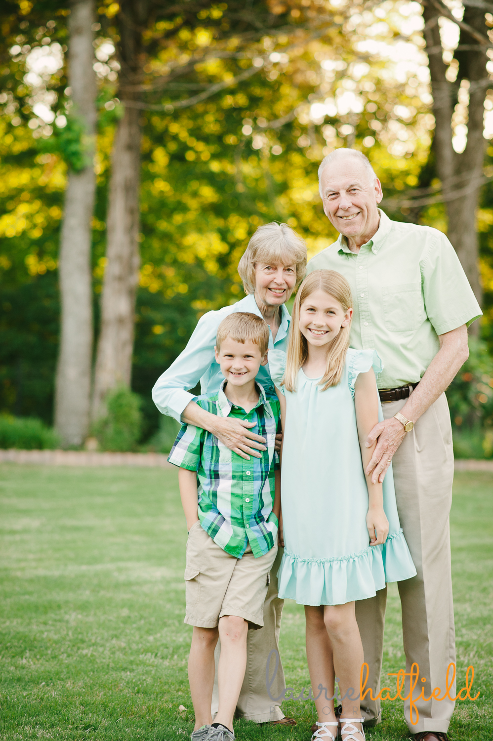 grandchildren and grandparents | Huntsville family photographer