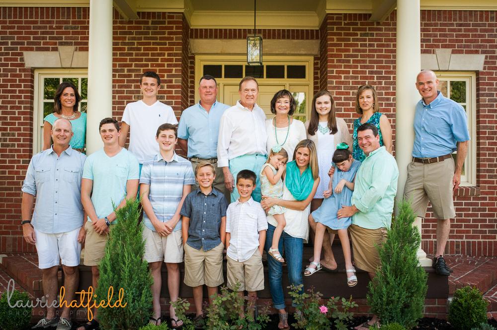 extended family photo session | Huntsville photographer