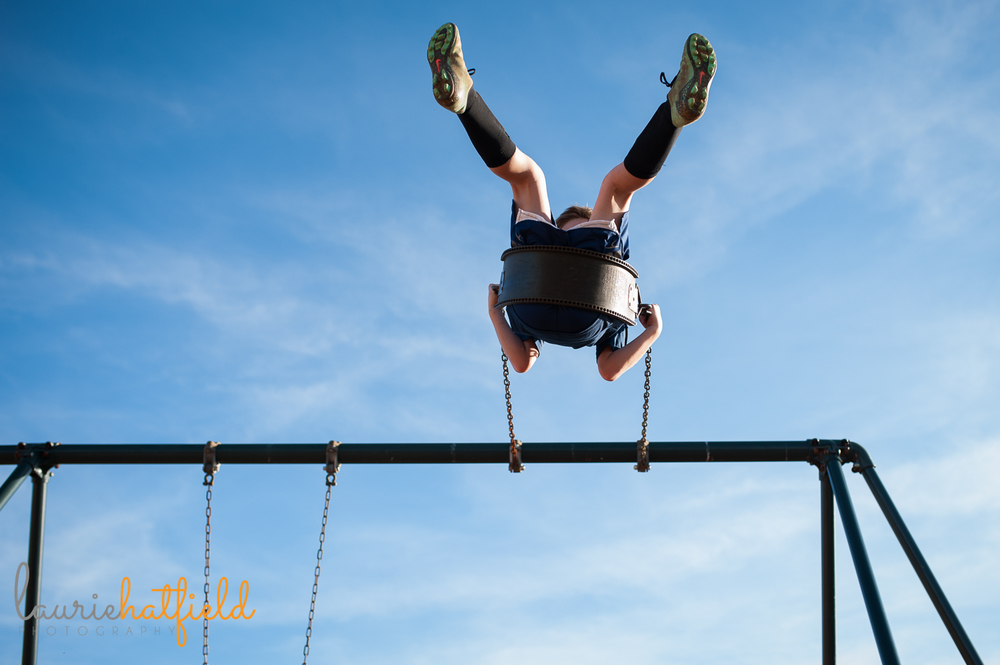 little boy on swing in the sky | Huntsville photographer