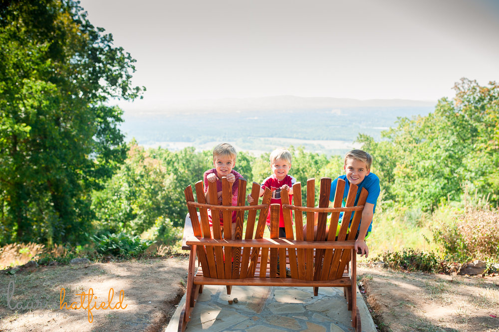 3 brothers at Berry College House of Dreams | Huntsville family photographer