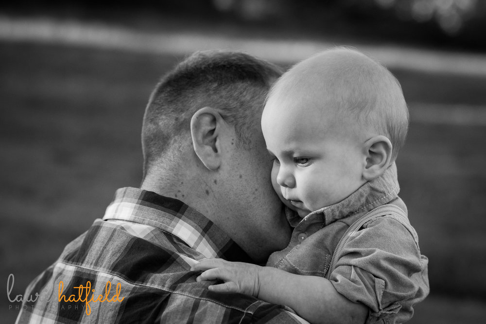 dad and baby boy | Mobile AL photographer