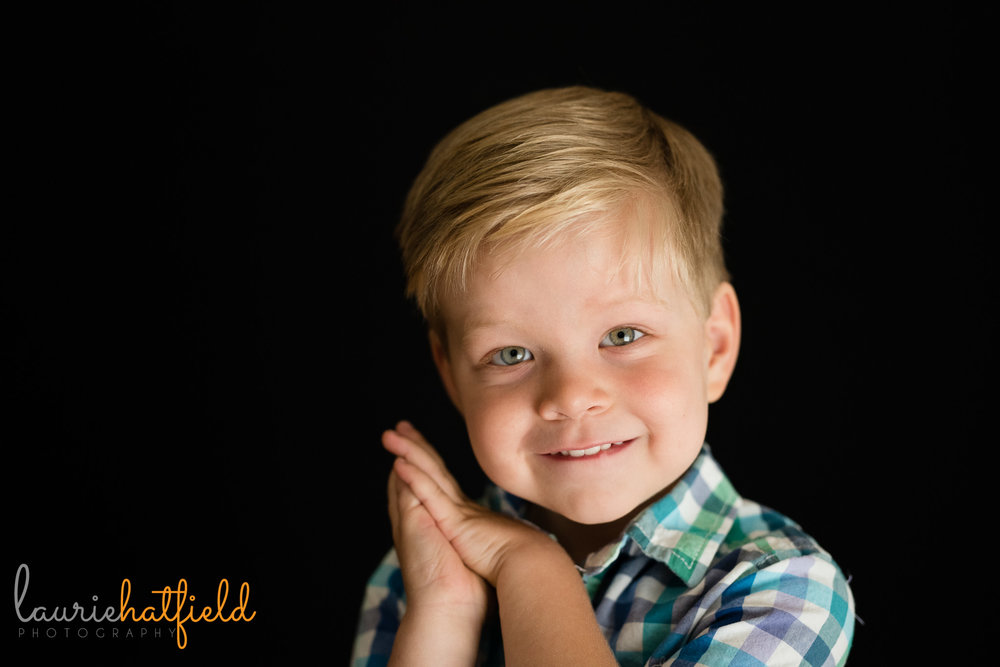 3-year-old school picture | Mobile AL preschool photographer
