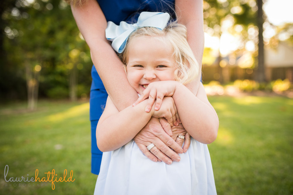 4-year-old little girl | Mobile AL family photographer Laurie Hatfield Photography