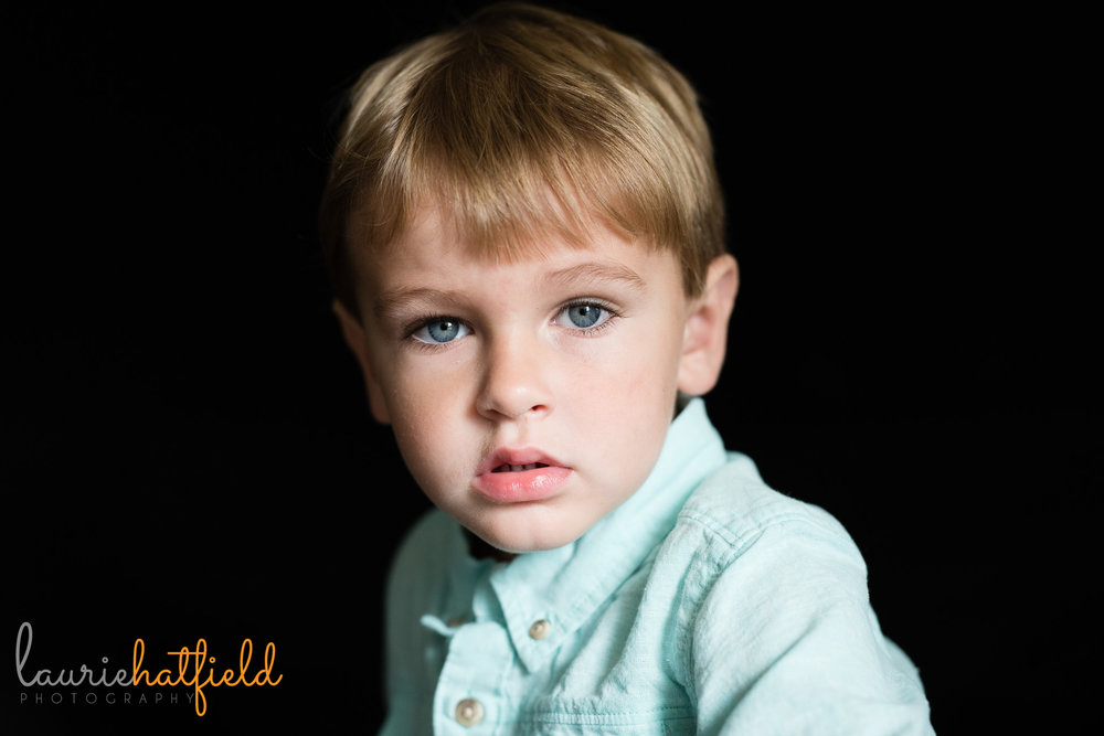 2-year-old boy portrait | Mobile AL school photographer