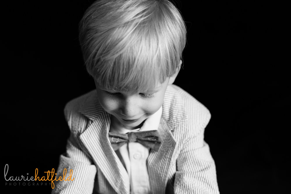 3-year-old school portrait | Mobile AL preschool photographer