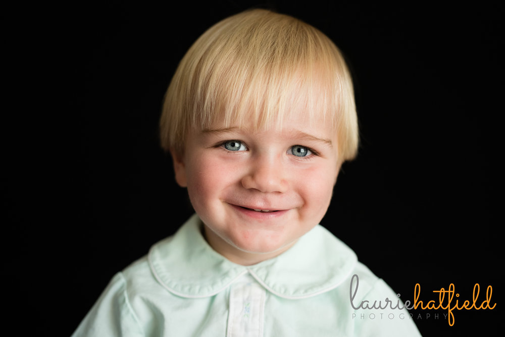 2 year old boy school portrait | Mobile al preschool photographer