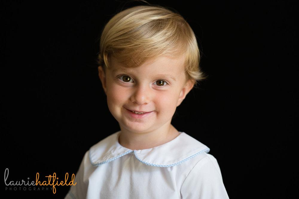 3 year old boy school portrait | Mobile Al preschool photographer