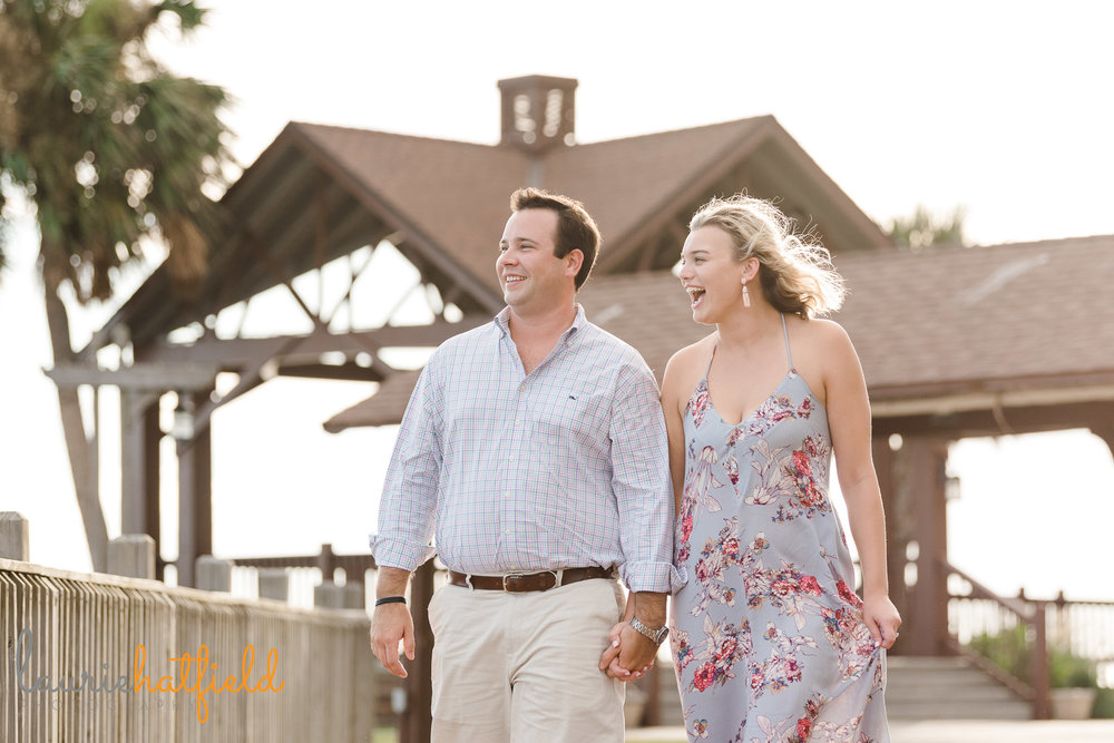engagement photo session | Fairhope AL proposal photographer