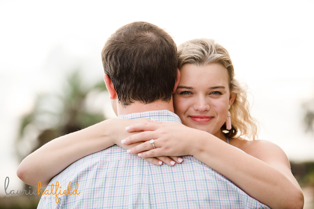 engagement photo session Fairhope AL | Mobile proposal photographer
