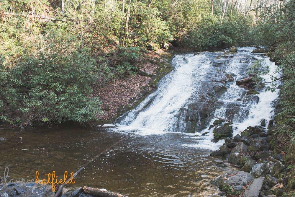 waterfall at Great Smoky Mountains | Mobile AL family photographer