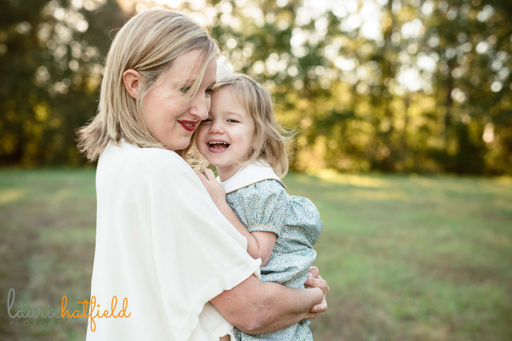 mom dancing with little girl | Fairhope AL family photographer