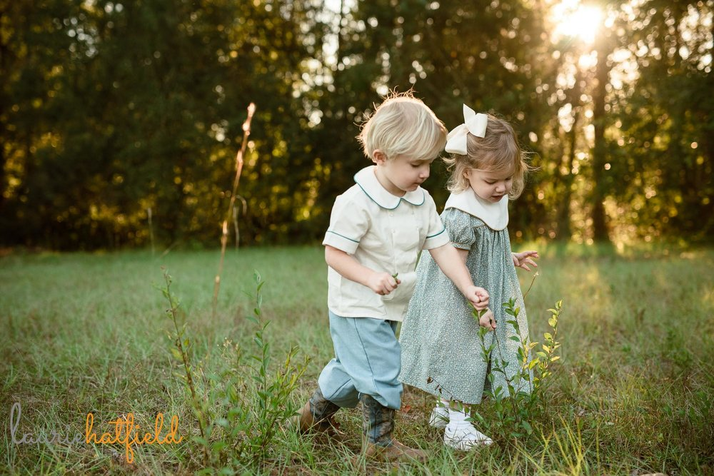 3-year-old twins | Mobile AL family photographer