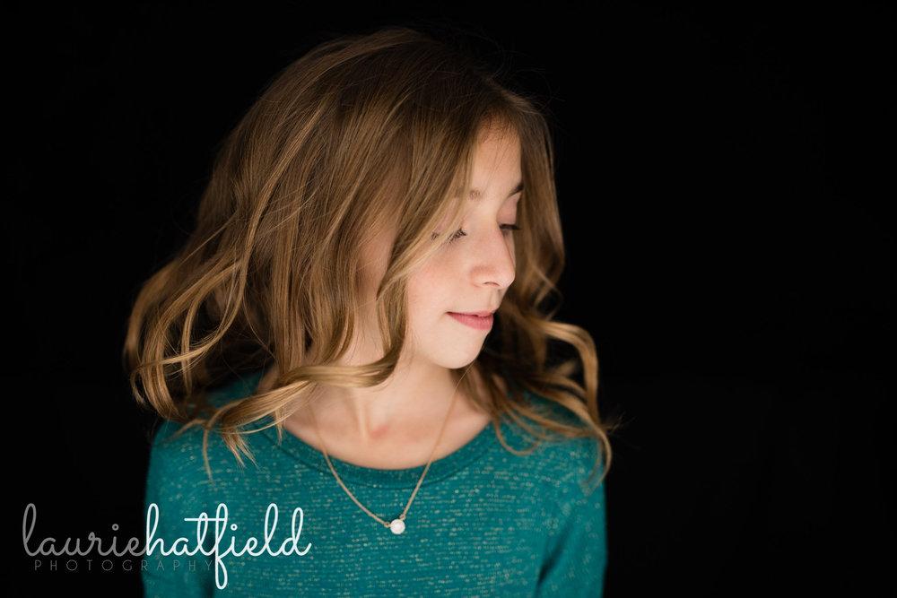 girl and her profile | Mobile AL school photographer | fine art portraits