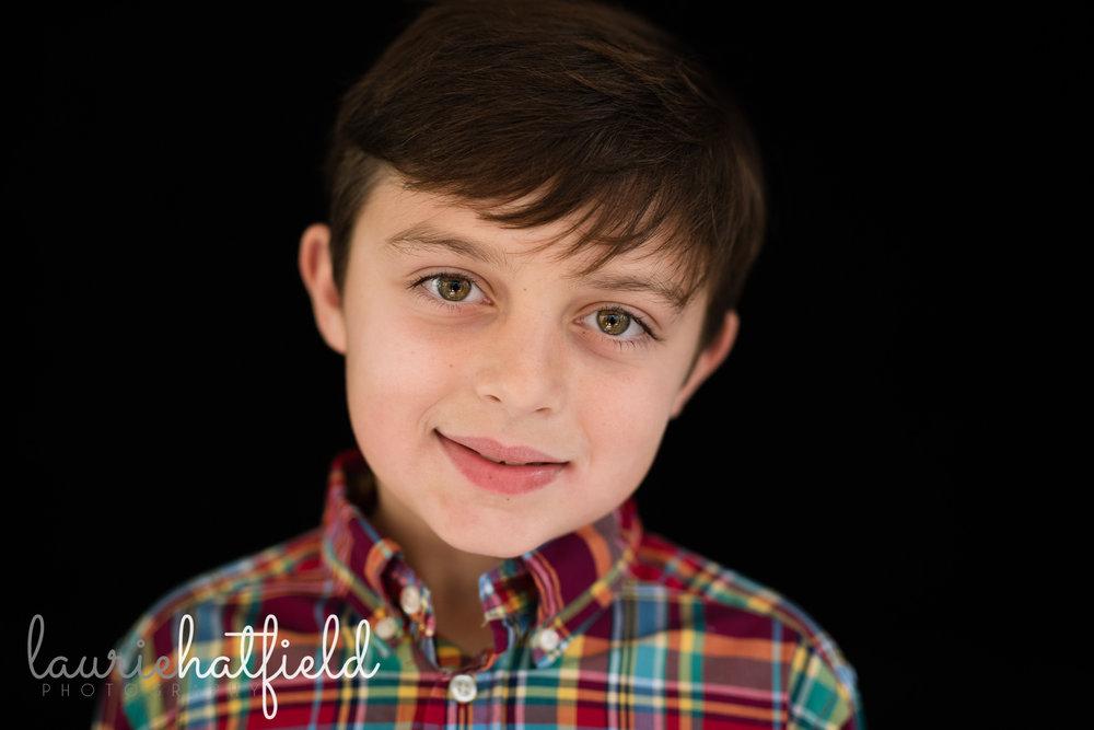 boy in plaid shirt | Mobile AL fine art school portraits