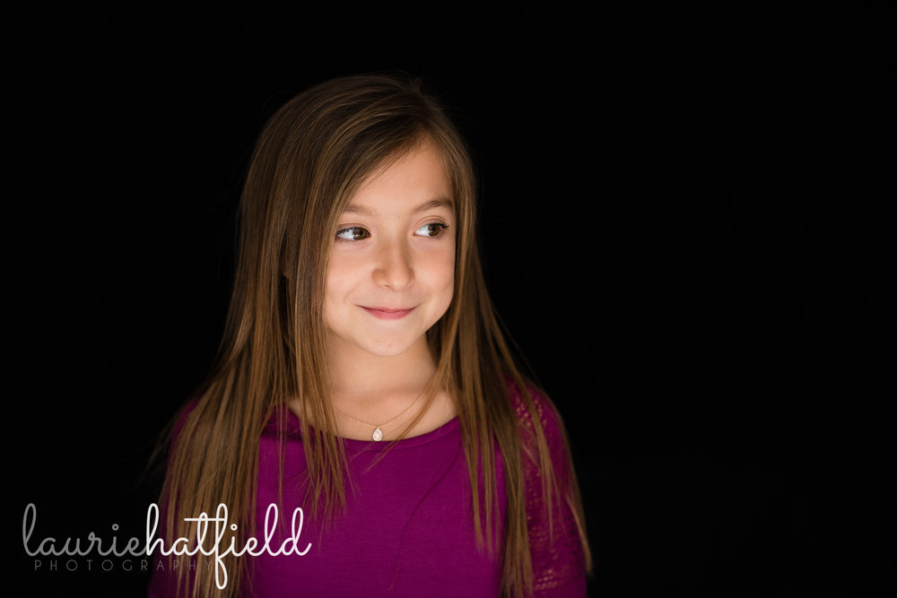 girl in purple shirt | Mobile AL school photographer