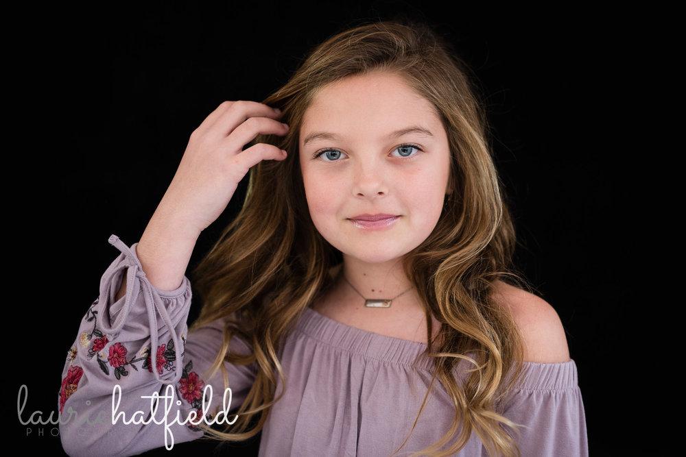 girl with long hair | Pensacola FL school photographer