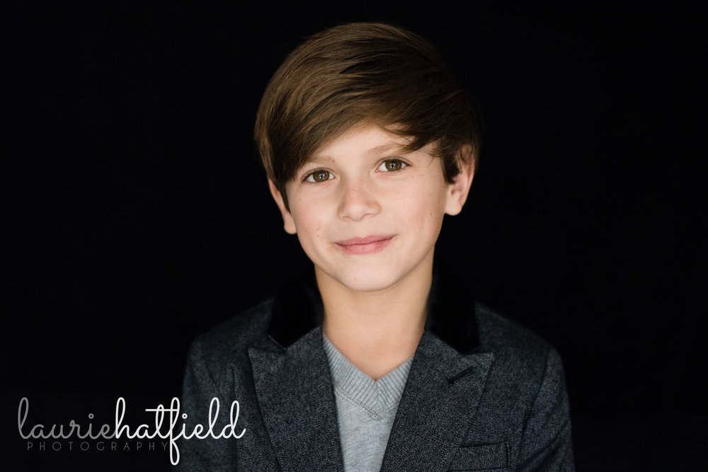8-year-old boy | Spanish Fort AL school photographer