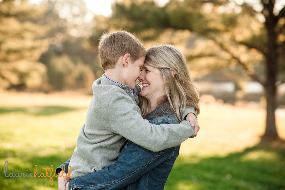mom and 8-year-old son | Mobile AL family photographer