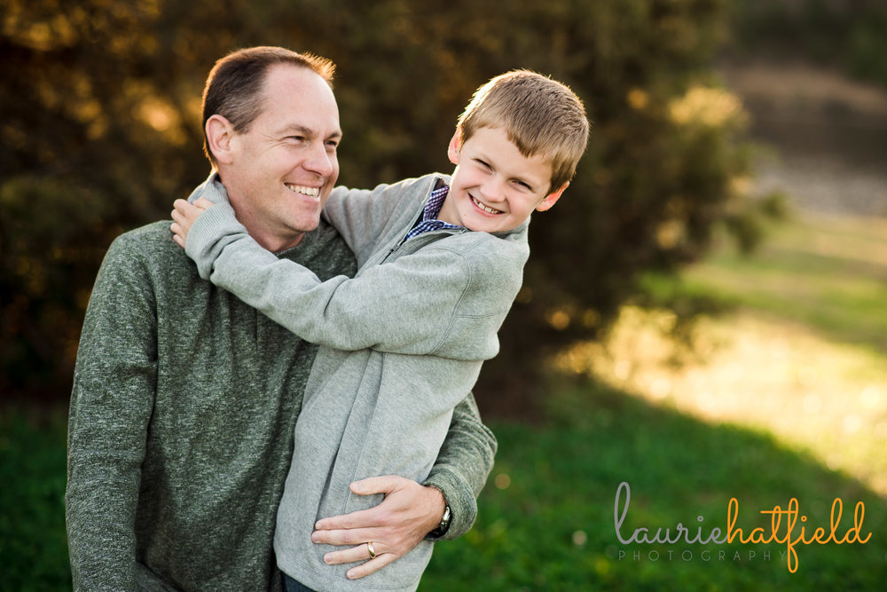 dad and son together | Daphne AL family photographer