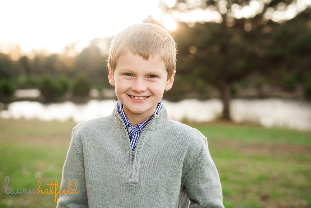 portrait of 8-year-old boy | Mobile AL school photographer