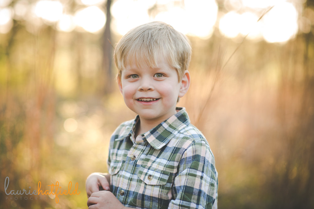 4-year-old boy portrait | Mobile AL lifestyle photographer