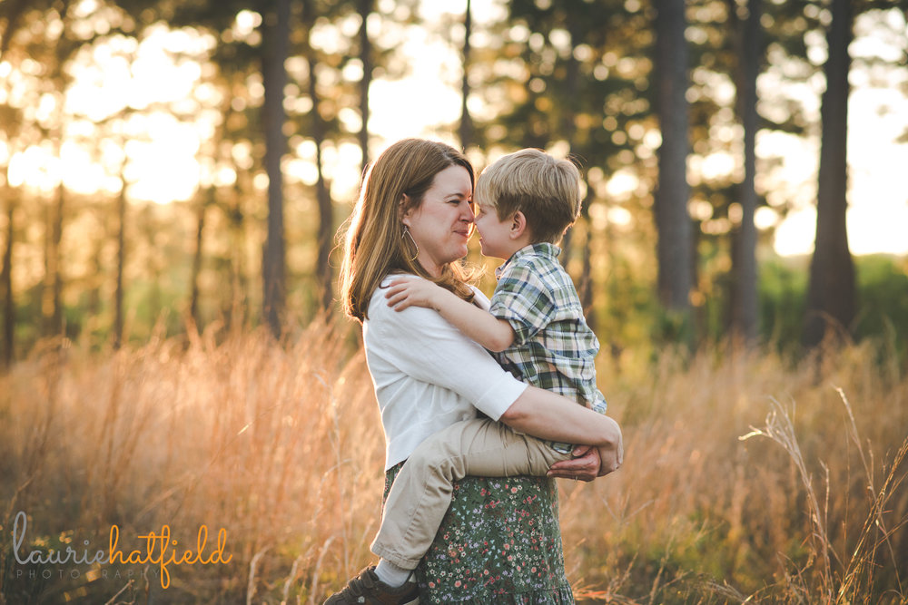 mom with 4-year-old son | Mobile AL family photographer