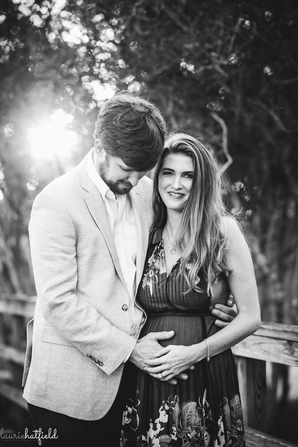 husband and wife maternity photo session | Mobile AL family photographer