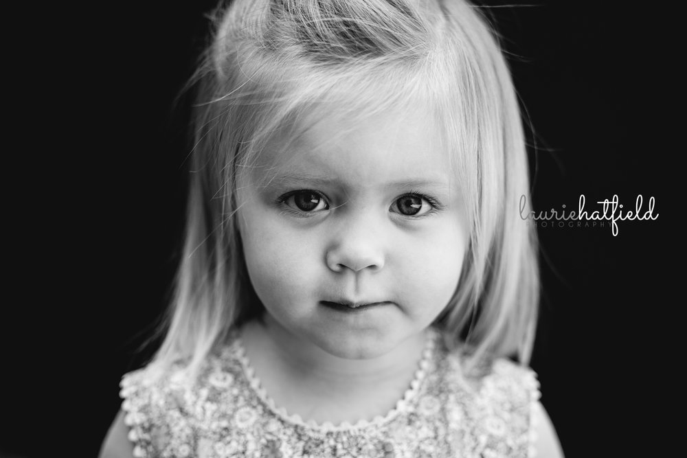 little girl with blue eyes | Mobile AL school photographer